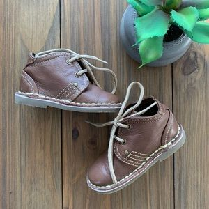 Zara Baby | Brown Leather Shoes - size 20